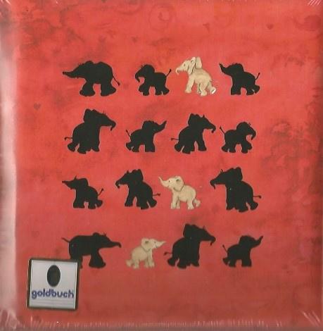 Goldbuch poeziealbum Olifantjes