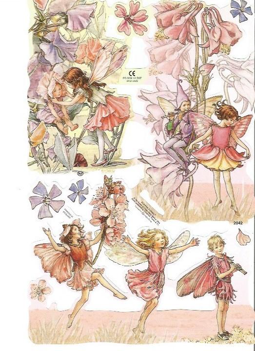 Poezieplaatjes Flower Fairies 6 MLP 2042