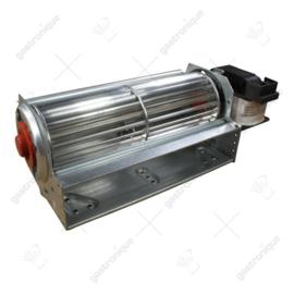Motor ventilator dwarsstroom