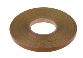 Teflon tape 15 x 0,25 mm,  per meter