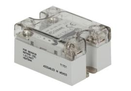 aansluitblok solidstate relais CROUZET fasen 1 25A 24-280V 3-32VDC L 58mm B 45mm schroefaansluiting