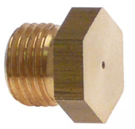 gasinspuiter draad M10x1 SB 12 boring ø 1,45mm