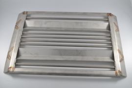 Modular lavasteen grill