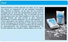 Lubron PuroSel onthardingszout 40 x 25 kg incl transportkosten