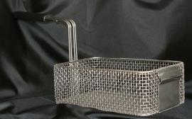 Fritesmand H&L met knik in voorplaat 10x19x30 cm