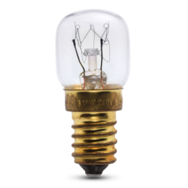 Lamp oven 230 Volt 15 Watt E14