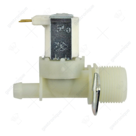 "Waterklep / Magneetventiel recht 230VAC ingang 3/4"" uitgang 10,5mm DN10 TP p max. 10bar"