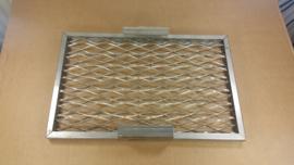 Rooster Lavasteengrill 445x285x20 mm Zanussi Electrolux Alpeninox