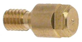 waakvlaminspuiter flessengas identificatienummer 21 boring ø 0,21 mm