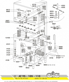 Exploded view ATA At 95