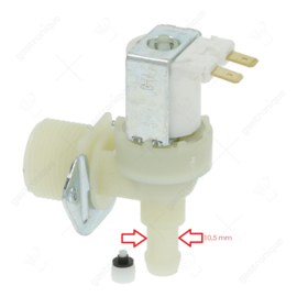 Enkelvoudige waterklep ijsblokjesmachine 0,8 l / min