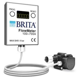 """stroommeter met digitale weergave aansluiting 3/4"""" ID - 3/4"""" OD totale lengte 81mm"""