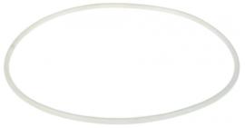pakking voor deksel transparant D1 ø 298mm ID ø 5mm H 7,3mm PVC