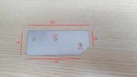 reparatieplaat deur Afinox koelwerkbank
