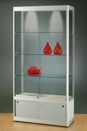 GPC1000D vitrine technisch alu