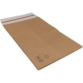 Verzendzak papier met retourstrip 32x43x8cm 100st Tpk923333