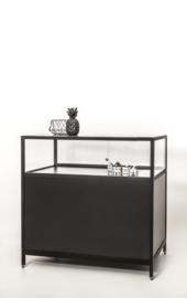 Toonbank vitrine zwart SD832-100