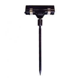 Prijsprikker 10cm met klem zwart Thw7100z