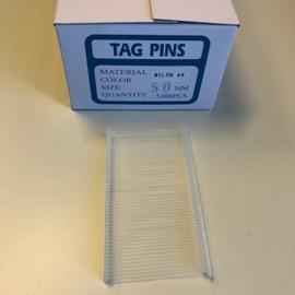 Nylon textielpins 50mm standaard 5000st Td30310050