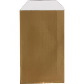 Cadeauzakje luxe goud 15x22cm 150st Tpk265334