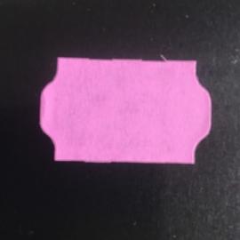 Etiket 32x19 golfrand rose perm Td27213009