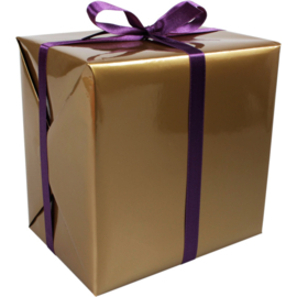 Cadeaupapier goud 30cm 200m Tpk346803