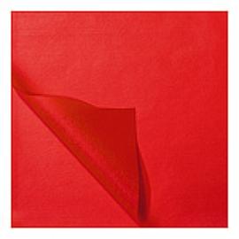 Zijdevloei vellen rood 50x70cm Tpk331508