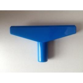 T- stuk blauw 6cm Td12015008