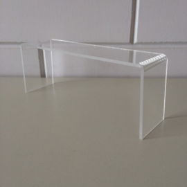 Acryl bruggetje 250x70x100mm Td14450100