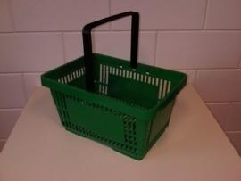 Winkelmandje groen 1 handgreep 22 liter Td06000239