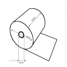 Thermo pinrol 57x47x12mm 50st Tbe574712