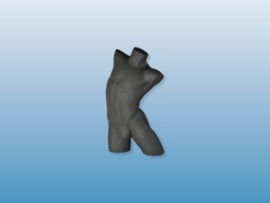 Herenbuste zwart zonder arm Tms5710