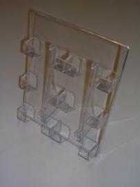 Acryl telefoonkaarthouder 6-vaks Td99140115