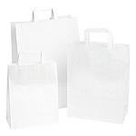 Papieren draagtas wit 32/15x43cm Tpk270205