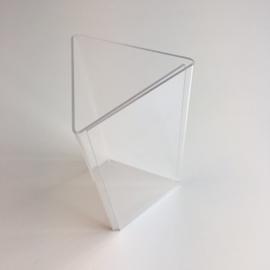 Acryl pyramidestandaard 3x 1/3A4 Td14271021