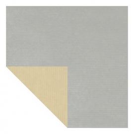 Inpakpapier 60cm zilver Tpk340326