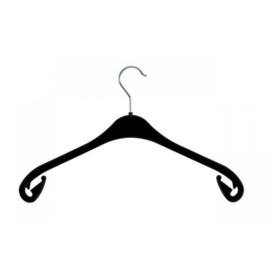 Kunststof kledinghanger zwart 47cm 270st NA47