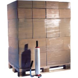 Rek/wikkelfolie 45cm 170m 35my transparant 6x rol Tpk114010