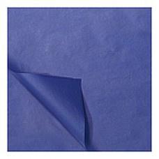 Zijdevloei vellen marine blauw 50x70cm Tpk331512