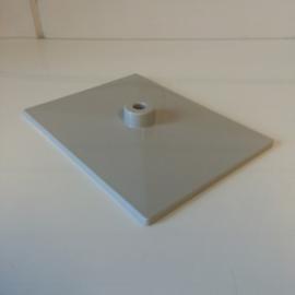 Voetplaat kunststof grijs Td12021102