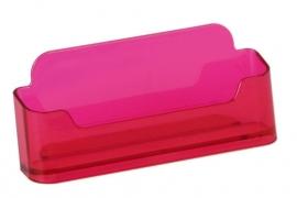 Visitekaarthouder neon rood Tn20500161
