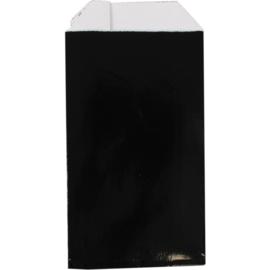 Fourniturenzak luxe zwart 7x13cm 150st Tpk265316