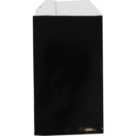 Cadeauzak luxe zwart 7x13cm 150st Tpk265316