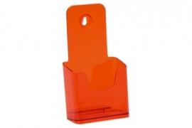 Folderbak 1/3 A4 staand neon oranje Tn20100160