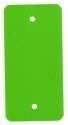 PVC-labels 54x108mm groen 2 gaten 1000st. Td35987117