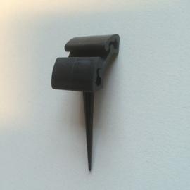 Prijspen kunststof 5cm zwart 10st Td13020714