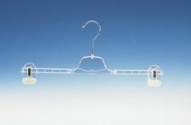 Transparante hanger met 2 klemmen KL1-36/40L