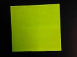 Etiket 29x28 fluor geel permanent Td27253016