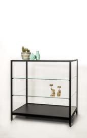 Toonbank vitrine zwart SD822-100