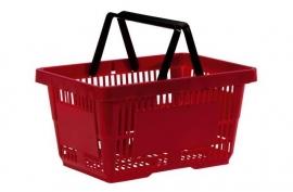 Winkelmandje rood 22 liter Td06000204